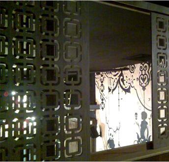 Laser Cut Metal Screen