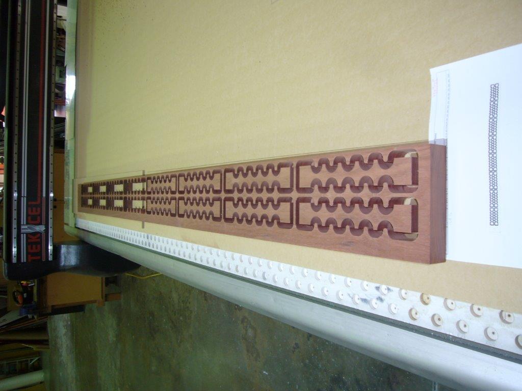 CNC Router Cut Wood