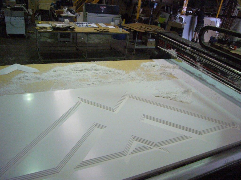 Custom Door Laser Engraving