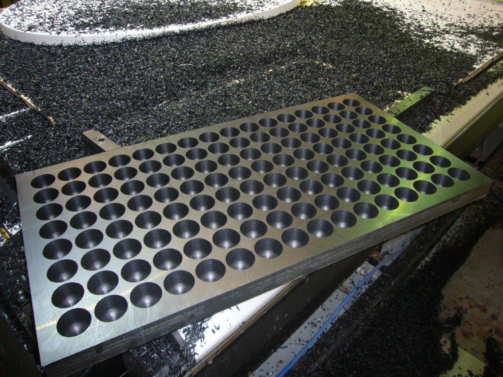 CNC Cut Metal Mould
