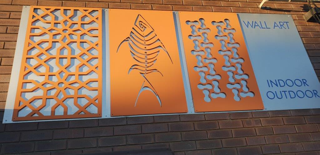 Custom CNC Cut Decorative Screen – Aluminium