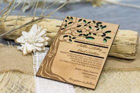 laser cut wedding invites using our laser cutting services in perth