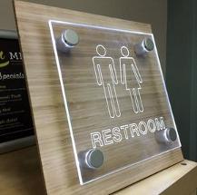 laser cut sign